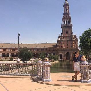 Plaza de España, Sevilla, June 2015