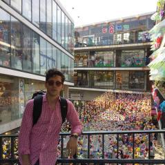 SSamziegil market, Seoul